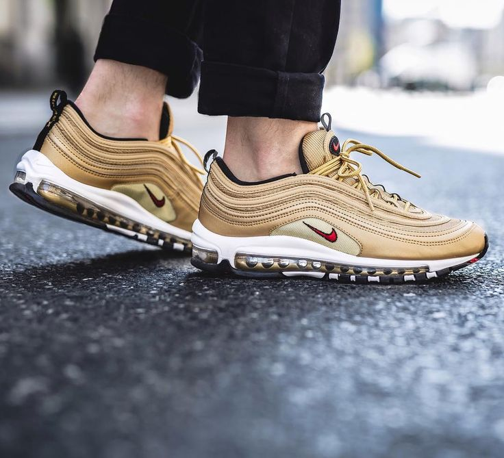 """Nike Air Max 97 OG QS """"Metallic Gold"""" avaliable in store and soon online at www.streetsupply.pl"""