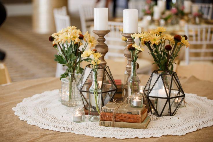 Wedding at Rydges South Bank | Wedding Center Piece
