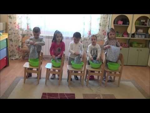 Игровой танец Стирка. Ритмика для малышей.