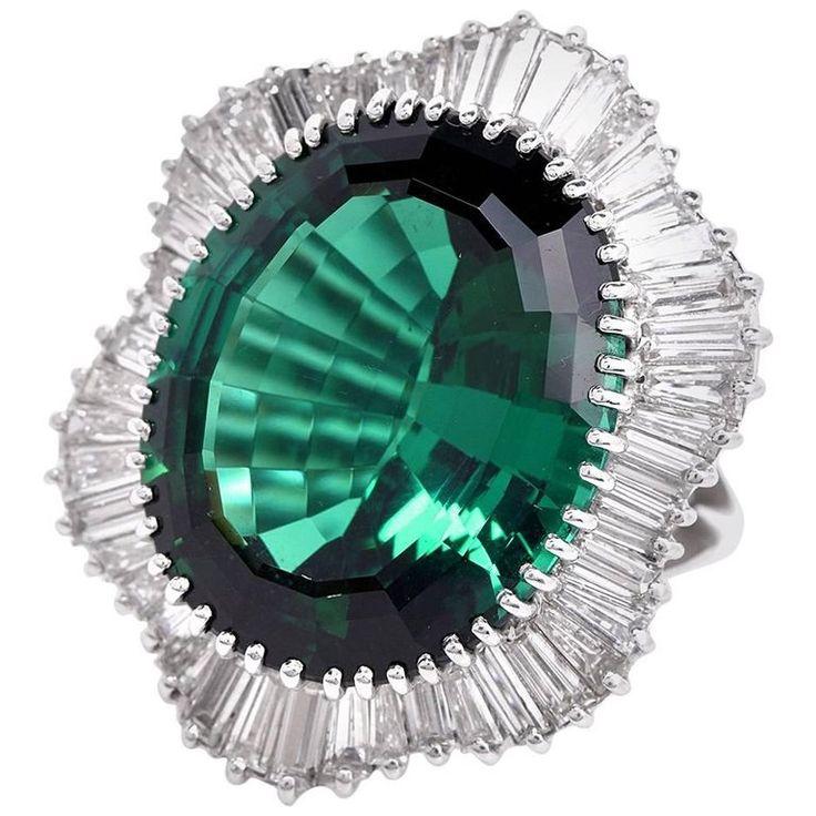 Ballerina Diamond Ring