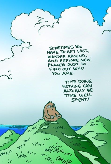 Socially Responsible Sloth's Advice on Being Lost