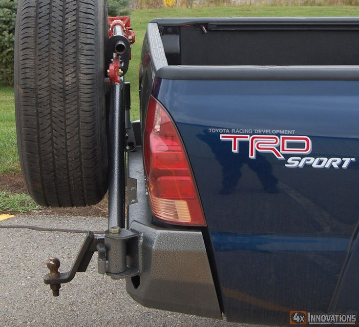 2005 - 2015 Toyota Tacoma Off Road Bolt On Rear Bumper
