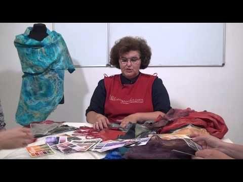 Елена Макарова. Авторская техника палантинов-паутинок - YouTube