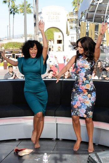 Tracee Ellis Ross and Tracey Edmonds