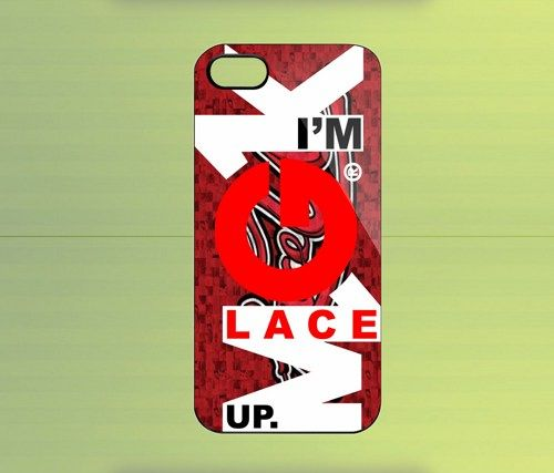 MGK Lace Up for iPhone 4/4S iPhone 5 Galaxy S2/S3/S4 & Z10 | WorldWideCase - Accessories on ArtFire