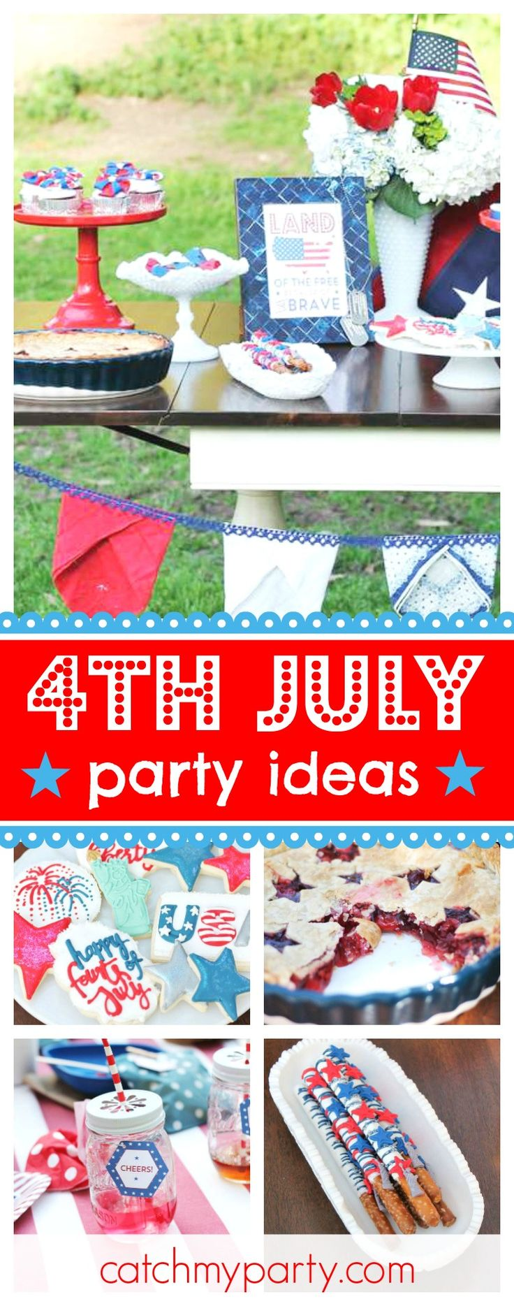 637 best party inspiration images on pinterest adult for 4th of july party ideas for adults