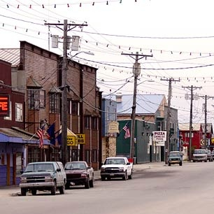 Nome, Alaska I have walked those streets. :)