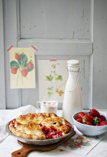Rezept für den sexyiesten Strawberry Pie, den ich je gegessen habe
