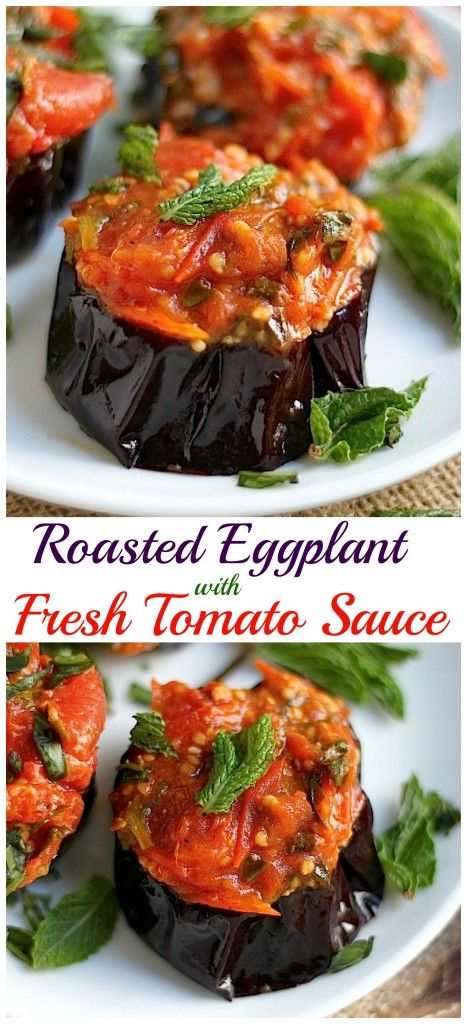 Oven Roasted Eggplant on Pinterest | Roasted Eggplant Recipe, Roast ...