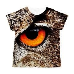 eye Women's All Over Print T-Shirt by Caudia Neusi