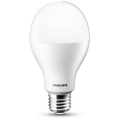Chollo en Bombilla LED Philips 75W E27  Si necesitas cambiar bombillas de la rosca gorda (E27, las más típicas), aprovéchate de este chollo en bombillas LED de Philips que equivalen a 75W.  Chollo en Amazon: Bombilla LED Philips 75W E27 929000259301 por 9,99€, es decir, un 47% de descuento sobre el precio de venta recomendado y mínimo histórico