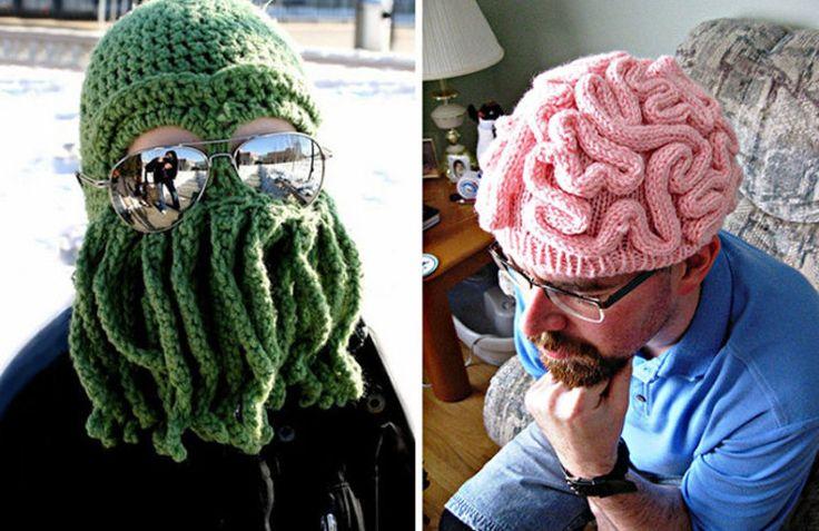 Cappelli invernali creativi
