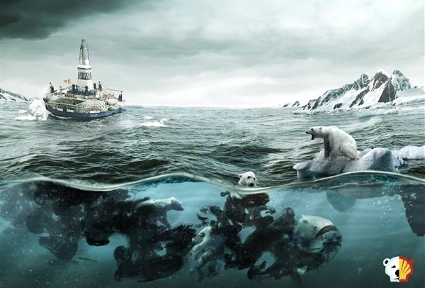Arctic Oils effect on the environment.