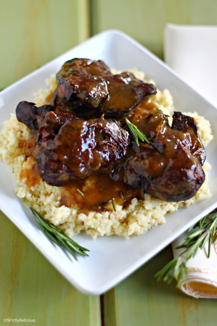 Crispy Chicken Livers With Rosemary Gravy Recipe Gravy Chicken Livers And How To Cook Chicken