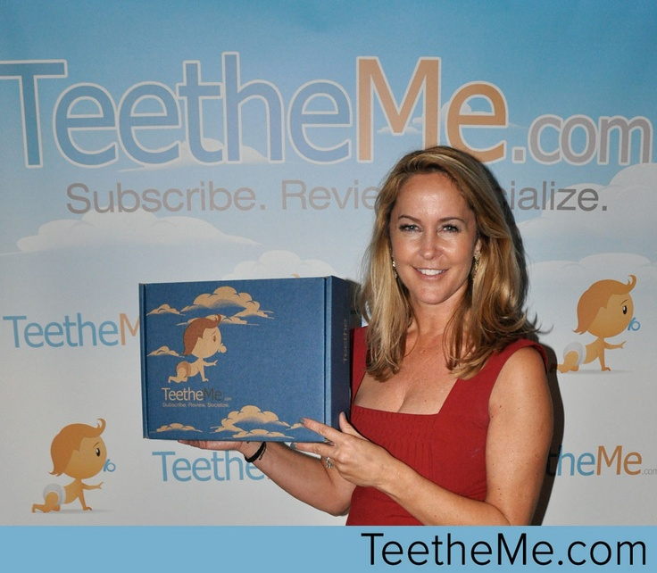 Erin Murphy from Bewitched with TeetheMe.com at the Oscars Boom Boom Room @teetheme #celebs