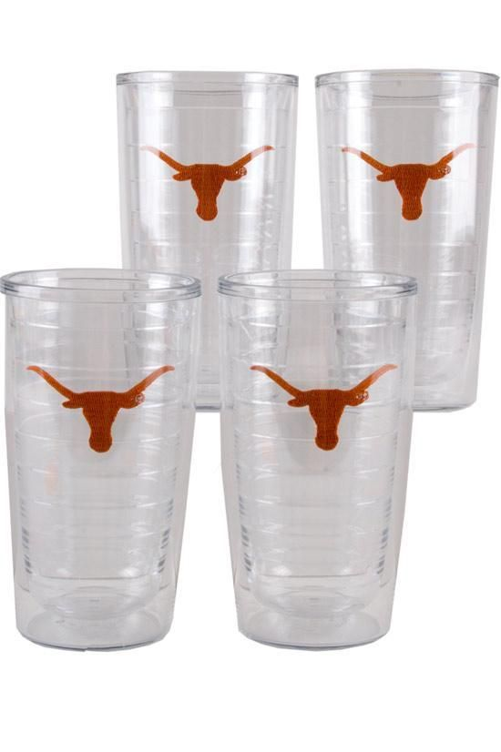 Kick back in the shade and enjoy a drink kept cold in one of these Tervis tumblers, adorned with Longhorns so you can show off your UT pride in comfort!