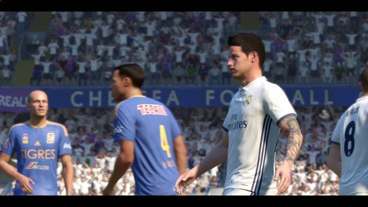 FIFA 17 DEMO Match highlights sample - Real Madrid v Tigres............