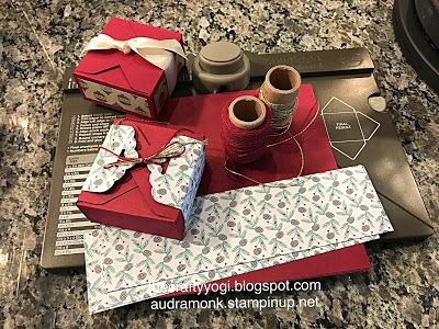 the crafty yogi: Envelope Punch Board Boxes, with video