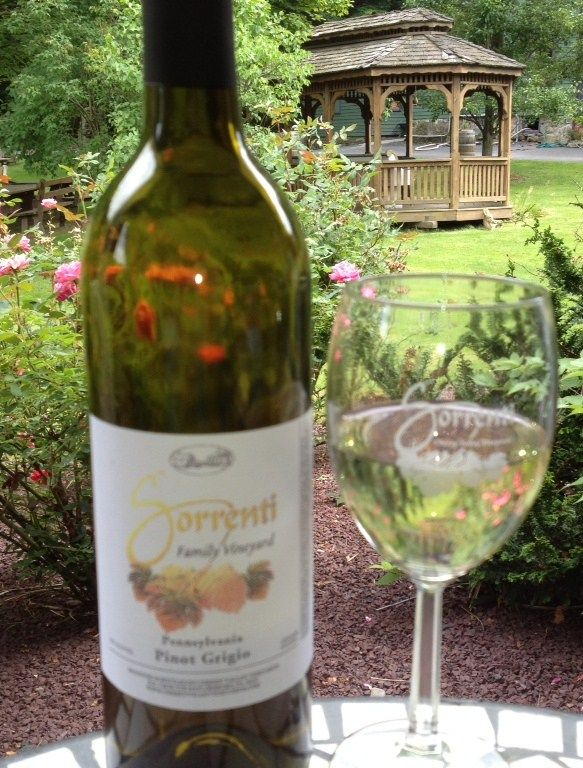 Sip on a glass of original Pocono Mountains wine at one of the region's wineries. #PoconoMtns