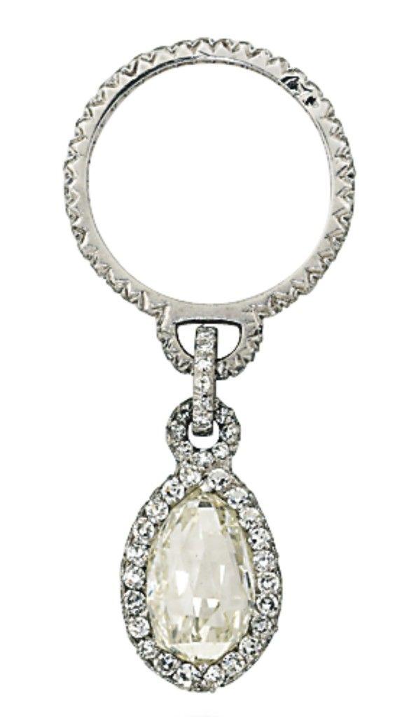 JAR diamond pendant ring - Christie's Geneva