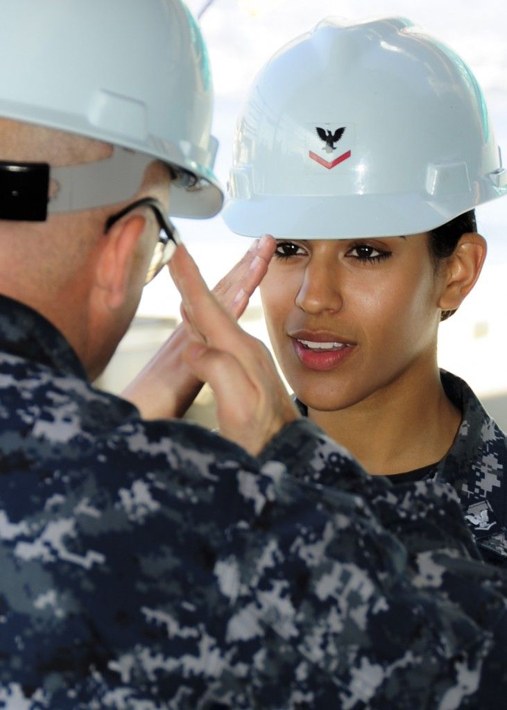 These are your U.S. Navy sailors!   Repin to salute them.