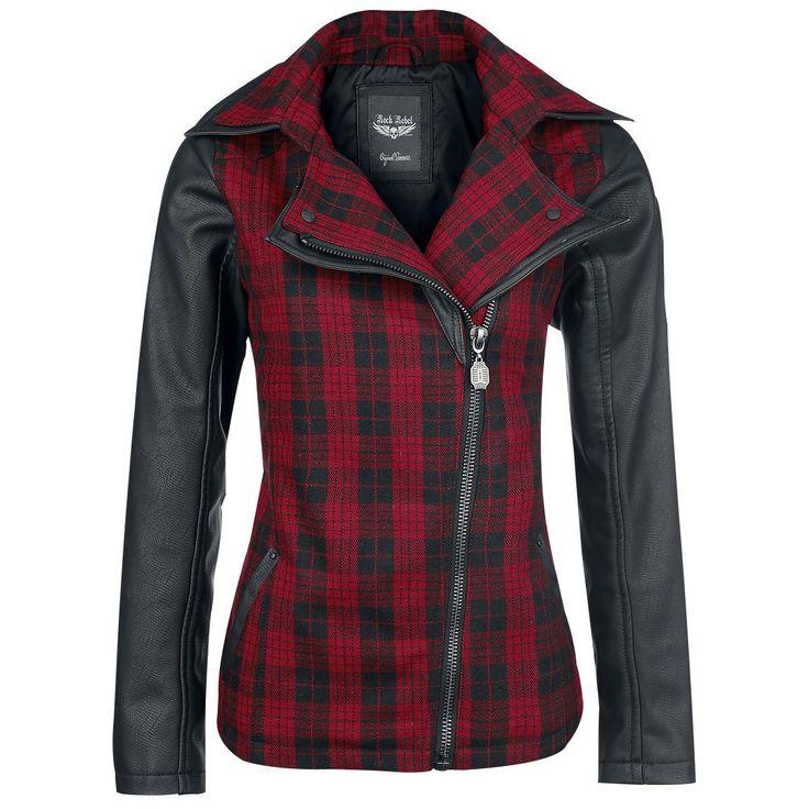 Checked Jacket - Overgangsjakke etter Rock Rebel by EMP