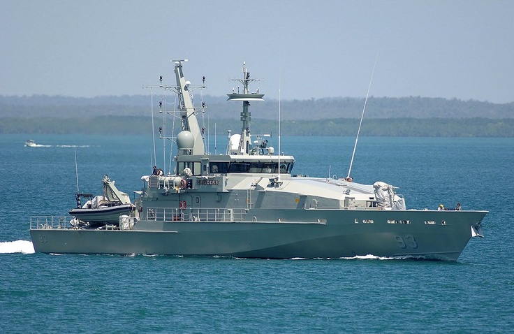 HMAS Childers (ACPB 93) is an Armidale class patrol boat of the Royal Australian Navy (RAN). She was constructed by Austal at their shipyard in Henderson, Western Australia. She was launched on 18 December 2006, and was commissioned in Cairns, Queensland on 07 July 2007.
