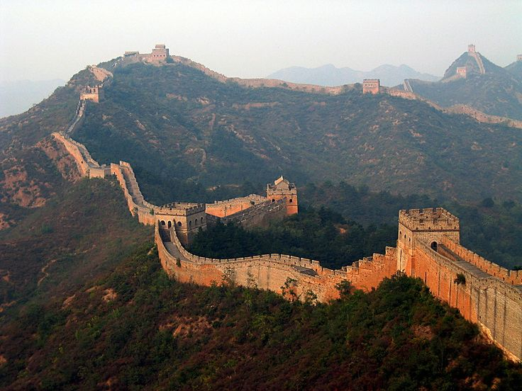 The wall around Koyanagar (yes, this is a picture of the Great Wall of China...that's where I got my inspiration!)