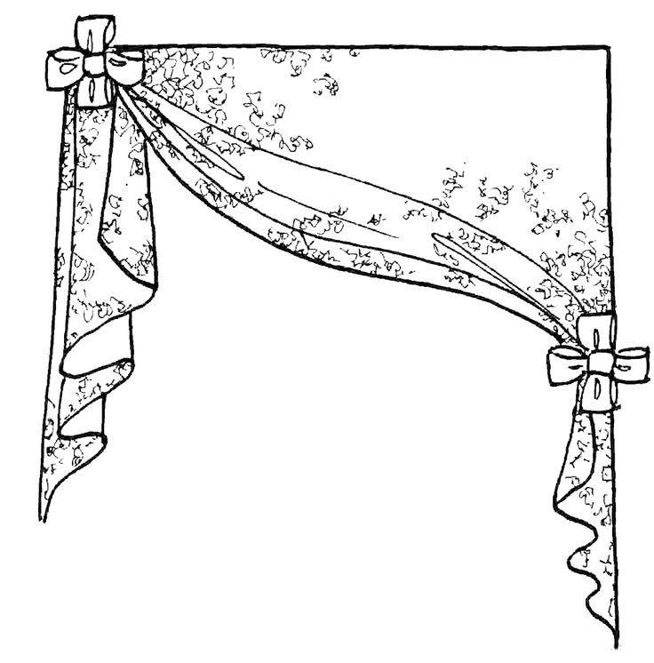 Выкройки штор картинки