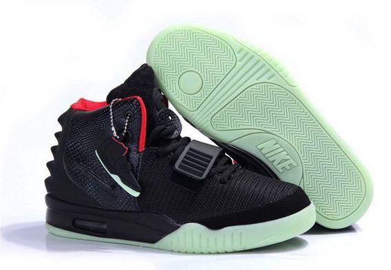 Najlepszy Nike Air Yeezy 2 Kanye West Czerwony Czarny Online Buty Damskie na sprzedaż