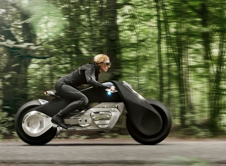 designboom was invited to the launch event in LA where we experienced the unveiling of the BMW motorrad VISION NEXT 100 motorbike concept.