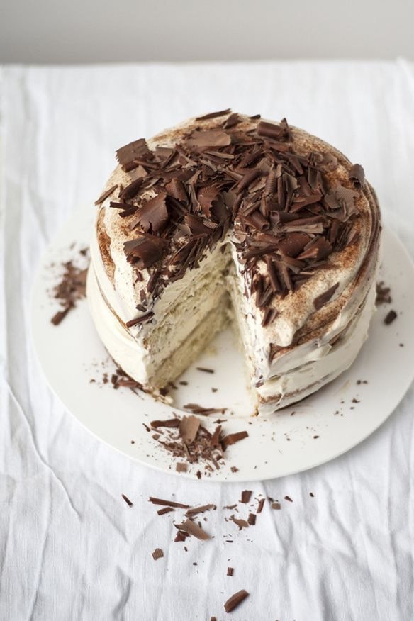 I LOVE tiramisu...I would love to try to make it myself...