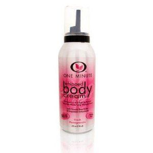 One Minute Whipped Body Cream - Fresh Pomegranate 118ml/4oz by One Minute Manicure. $12.95. Buy One Minute Manicure Body Creams & Body Lotions - One Minute Whipped Body Cream - Fresh Pomegranate 118ml/4oz. How-to-Use: Shake well before use. Dispense a small amount into hand and smooth over skin. Use daily.. Save 13%!