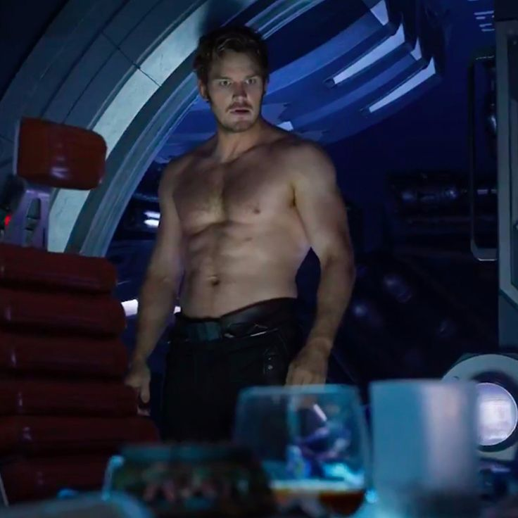 Shirtless Peter Quill. I'm spent.