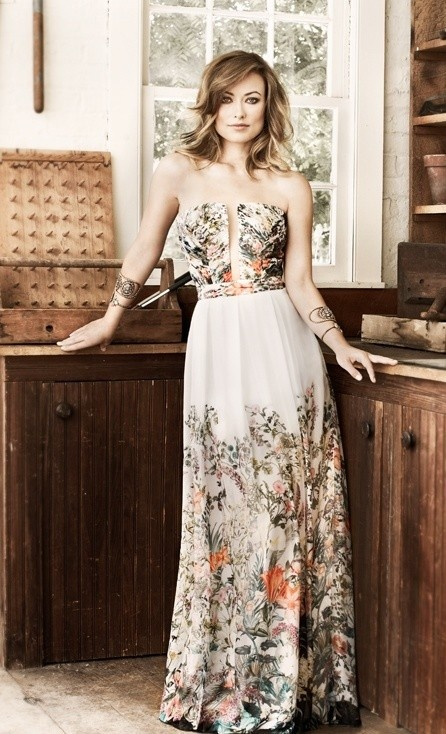 Olivia Wilde for Bobo Spring 2013.-  I love the bangs and layers with the body waves !  Find more women fashion on www.misspool.com
