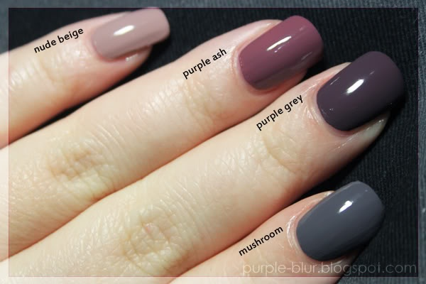 "colorOMG! Polish 'em!: Comparing Models Own ""neutrals"""