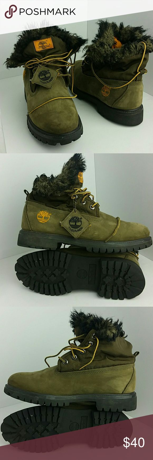 TIMBERLAND MEN'S BOOT IN GOOD CONDITION   SKE # FM timberland  Shoes Boots