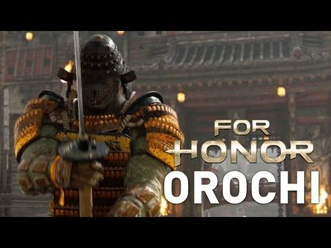 The Orochi: Samurai Gameplay Trailer - For Honor - YouTube