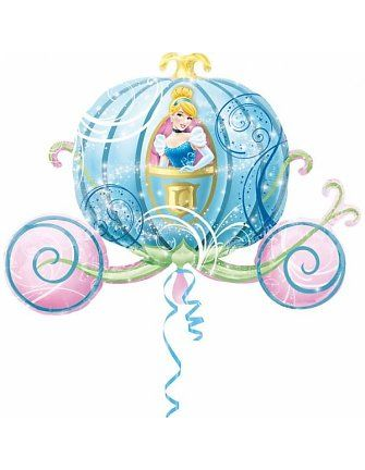 Disney Prinses Assepoester Koets Folieballon. Koop deze koets door hier te klikken http://www.huistuinsport.nl/funny-shopnl-disney-prinses-koets-folieballon.html #disney #ballon #disneyprinses #prinses #prinsessenfeestje #kinderfeestje #meisje #assepoester