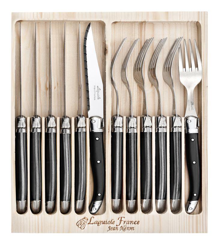 Cutlery Set of 12 (Black)
