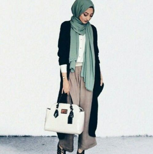 Pinterest: eighthhorcruxx. Green hijab