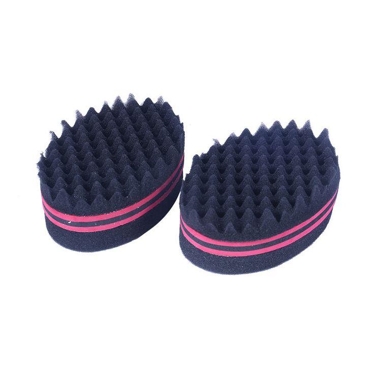 Magic Men Women Barber Hair Brush Sponge for Dreads Locking Afro Twist Curl Coil Styling Tools Black High Quality