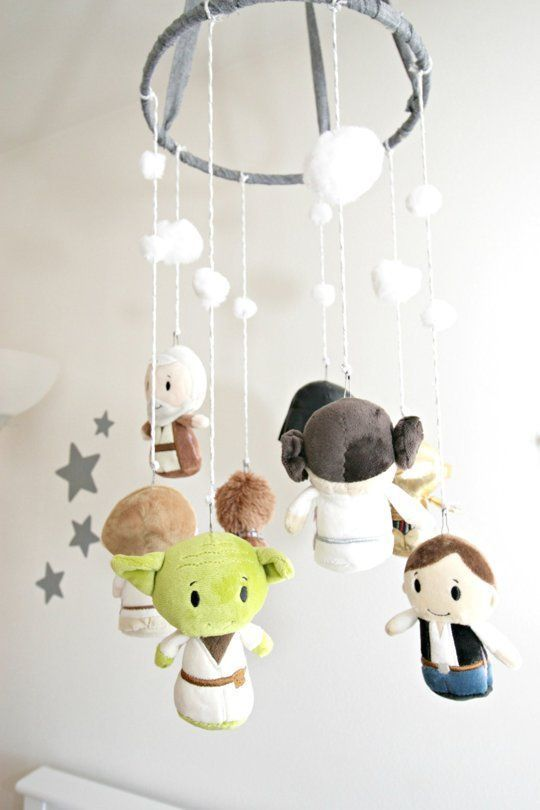 This Star Wars Nursery Is Cuter Than an Ewok — (Yep, There's a DIY Death Star)