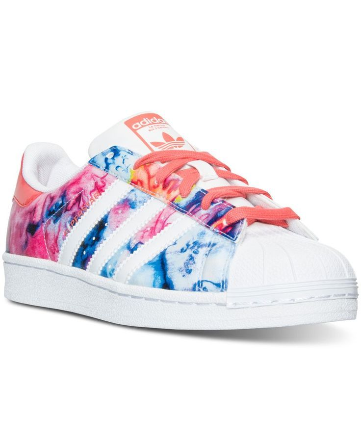 adidas big girls 39 superstar casual sneakers from finish. Black Bedroom Furniture Sets. Home Design Ideas