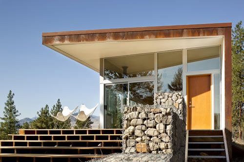 Hill House by David Coleman Architecture, Winthrop, Washington
