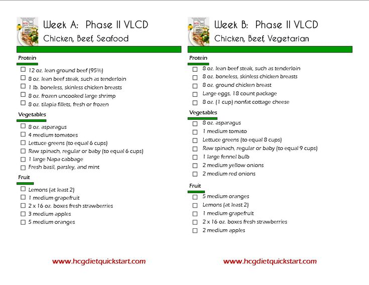 HCG Diet Menu Sample Printable   hCG Diet Quick Start Cookbook — Just another WordPress site