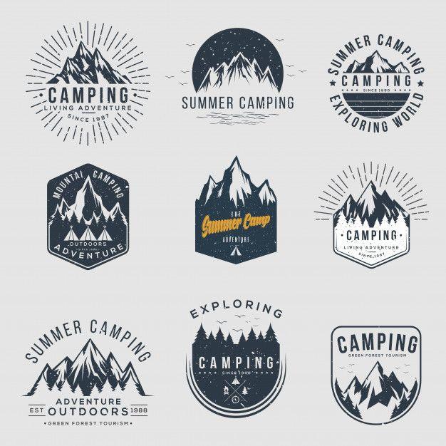 Freepik Graphic Resources For Everyone Adventure Logo Vintage Logo Adventure Logo Design