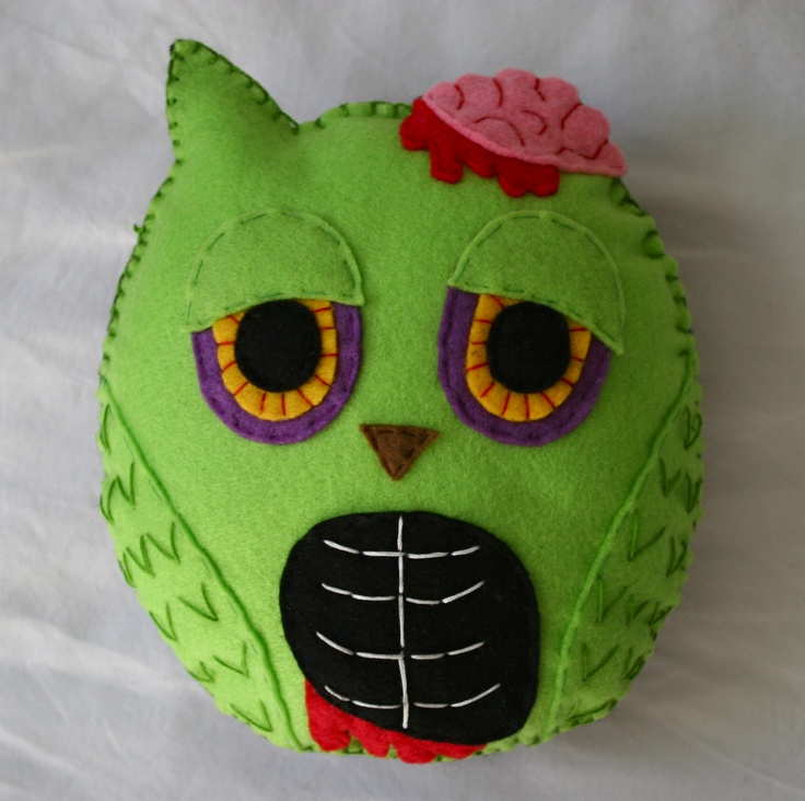 owl and halloween toy