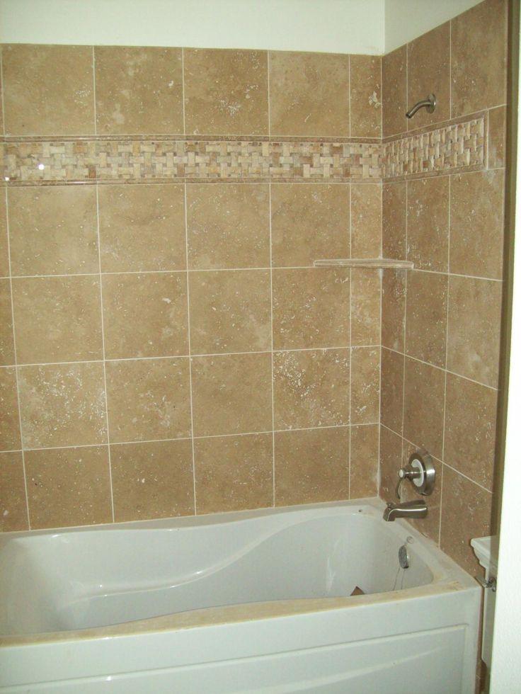 10 best bathtub tile ideas images on pinterest bathroom remodeling bathroom renovations and for Bathroom tub tile ideas pictures