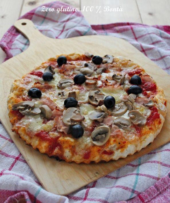 Pizza capricciosa senza glutine